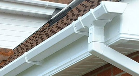 repaired guttering and fascias in Cork